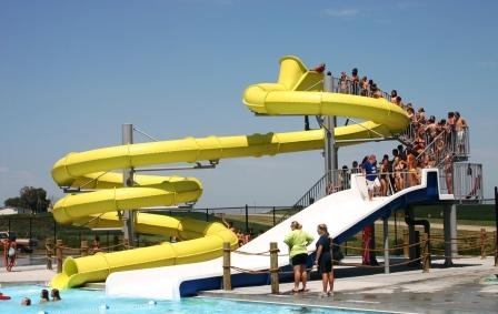 City of falls city nebraska aquatic park for Citywide aquatics division swimming pool slide